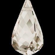 Swarovski Pendant 6020 - 37mm, Crystal Silver Shade (001 SSHA), 6pcs