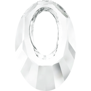 Swarovski Pendant 6040 - 30mm, Crystal (001), 30pcs