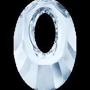 Swarovski Pendant 6040 - 30mm, Crystal Blue Shade (001 BLSH), 30pcs