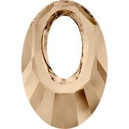 Swarovski Pendant 6040 - 40mm, Crystal Golden Shadow (001 GSHA), 6pcs
