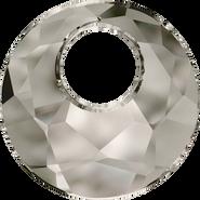 Swarovski Pendant 6041 - 18mm, Crystal Satin (001 SAT), 30pcs