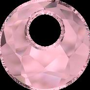 Swarovski Pendant 6041 - 28mm, Crystal Antique Pink (001 ANTP), 12pcs