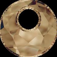 Swarovski Pendant 6041 - 28mm, Crystal Bronze Shade (001 BRSH), 12pcs