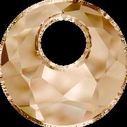 Swarovski Pendant 6041 - 28mm, Crystal Golden Shadow (001 GSHA), 12pcs