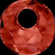 Swarovski Pendant 6041 - 28mm, Crystal Red Magma (001 REDM), 12pcs