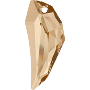 Swarovski Pendant 6150 - 30mm, Crystal Golden Shadow (001 GSHA), 48pcs