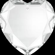 Swarovski Pendant 6225 - 28mm, Crystal (001), 24pcs