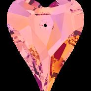 Swarovski Pendant 6240 - 27mm, Crystal Astral Pink (001 API), 24pcs
