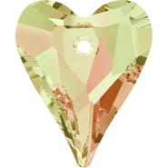 Swarovski Pendant 6240 - 27mm, Crystal Luminous Green (001 LUMG), 24pcs