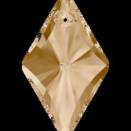 Swarovski Pendant 6320 - 14mm, Crystal Golden Shadow (001 GSHA), 96pcs