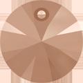Swarovski Pendant 6428 - 6mm, Crystal Rose Gold (001 ROGL), 720pcs