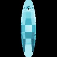 Swarovski Pendant 6470 - 32mm, Aquamarine (202), 36pcs