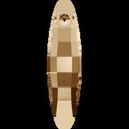 Swarovski Pendant 6470 - 32mm, Crystal Golden Shadow (001 GSHA), 36pcs