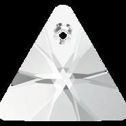 Swarovski Pendant 6628 - 16mm, Crystal (001), 72pcs