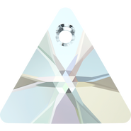 Swarovski Pendant 6628 - 16mm, Crystal Aurore Boreale (001 AB), 72pcs