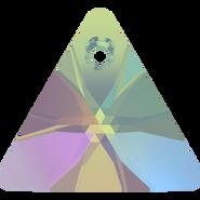 Swarovski Pendant 6628 - 16mm, Crystal Paradise Shine (001 PARSH), 72pcs