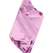 Swarovski Pendant 6650 - 22mm, Light Amethyst (212), 24pcs