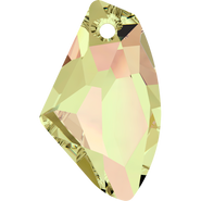 Swarovski Pendant 6656 - 27mm, Crystal Luminous Green (001 LUMG), 30pcs