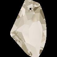 Swarovski Pendant 6656 - 27mm, Crystal Silver Shade (001 SSHA), 30pcs