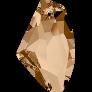 Swarovski Pendant 6656 - 39mm, Crystal Golden Shadow (001 GSHA), 6pcs