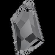 Swarovski Pendant 6670 - 18mm, Crystal Silver Night (001 SINI), 72pcs