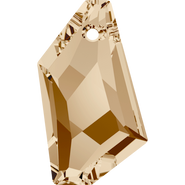 Swarovski Pendant 6670 - 24mm, Crystal Golden Shadow (001 GSHA), 48pcs