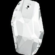 Swarovski Pendant 6673 - 28mm, Crystal (001), 20pcs