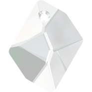 Swarovski Pendant 6680 - 14mm, Crystal (001), 144pcs