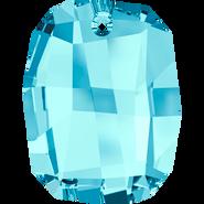 Swarovski Pendant 6685 - 19mm, Aquamarine (202), 48pcs