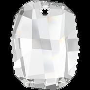 Swarovski Pendant 6685 - 19mm, Crystal (001), 48pcs
