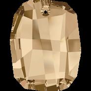 Swarovski Pendant 6685 - 19mm, Crystal Golden Shadow (001 GSHA), 48pcs