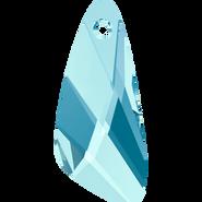 Swarovski Pendant 6690 - 23mm, Aquamarine (202), 36pcs