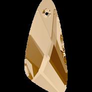 Swarovski Pendant 6690 - 23mm, Crystal Golden Shadow (001 GSHA), 36pcs