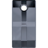 Swarovski Pendant 6696 - 20mm, Crystal Silver Night (001 SINI), 24pcs