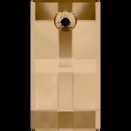 Swarovski Pendant 6696 - 30mm, Crystal Golden Shadow (001 GSHA), 10pcs