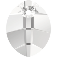 Swarovski Pendant 6734 - 14mm, Crystal (001), 108pcs