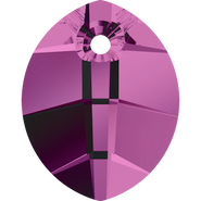 Swarovski Pendant 6734 - 23mm, Amethyst (204), 30pcs