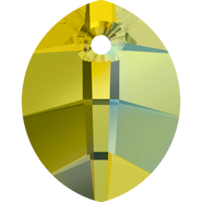 Swarovski Pendant 6734 - 23mm, Crystal Iridescent Green (001 IRIG), 30pcs