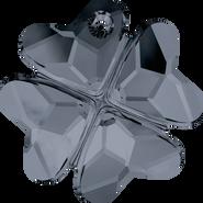 Swarovski Pendant 6764 - 23mm, Crystal Silver Night (001 SINI), 24pcs