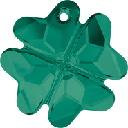 Swarovski Pendant 6764 - 23mm, Emerald (205), 24pcs