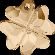 Swarovski Pendant 6764 - 28mm, Crystal Golden Shadow (001 GSHA), 16pcs