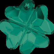 Swarovski Pendant 6764 - 28mm, Emerald (205), 16pcs
