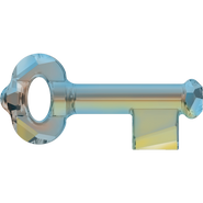 Swarovski Pendant 6919 - 50mm, Crystal Iridescent Green (001 IRIG), 6pcs