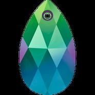 Swarovski Pendant 6106 - 22MM, Scarabaeus Green (2pcs)