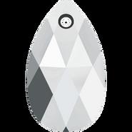 Swarovski Pendant 6106 - 22MM, Light Chrome (2pcs)