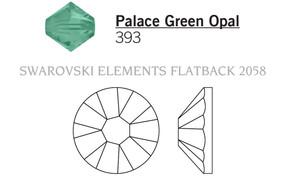 Swarovski 2058# - 7ss Palace Green Opal, F, 1440pcs, (2-11) Foiled
