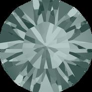 Swarovski Round Stone 1028 - pp7, Black Diamond (215) Foiled, 1440pcs