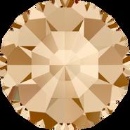 Swarovski Round Stone 1100 - pp1, Crystal Golden Shadow (001 GSHA) Foiled, 1440pcs