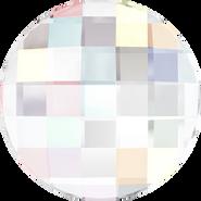 Swarovski Flatback 2035 - 10mm, Crystal Aurore Boreale (001 AB) Foiled, No Hotfix, 192pcs