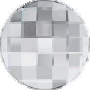 Swarovski Flatback 2035 - 30mm, Crystal (001) Foiled, No Hotfix, 12pcs